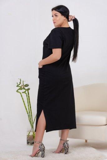 Платье 13459 (N) (Черный) (Фото 2)