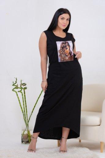 Платье 13458 (N) (Черный) - Злата