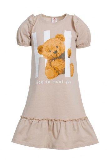 Платье Игрушка детское (N) (Бежевый) - Злата