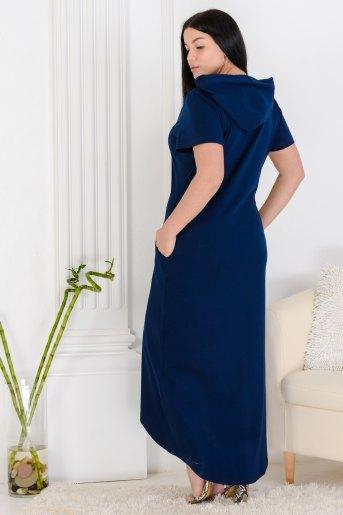 Платье 13461 (N) (Синий) (Фото 2)