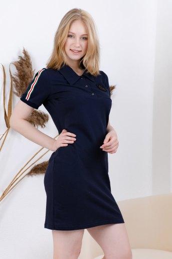 Платье 13451 (N) (Синий) - Злата