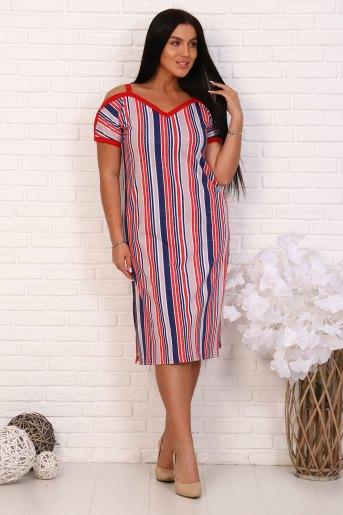 Платье 35003 (N) (Полоса) - Злата