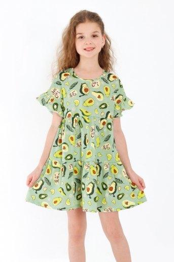 Платье Оттавия детское (N) (Зеленый) - Злата
