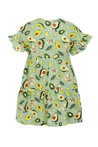 Платье Оттавия детское (N) (Зеленый) (Фото 2)