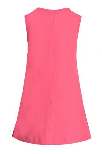 Платье Лиана детское (N) (Кораллово-розовый) (Фото 2)