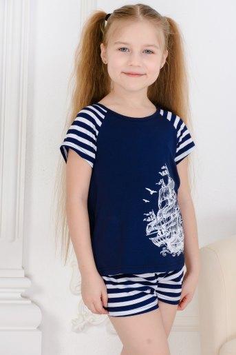 Костюм 10843 детский (N) (Синий) (Фото 2)