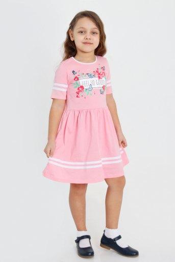 Платье Мариэтта детское (N) (Розовый) - Злата