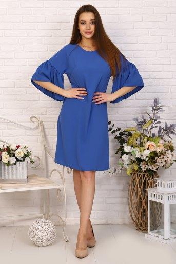 Платье 10392 (N) (Голубой) - Злата
