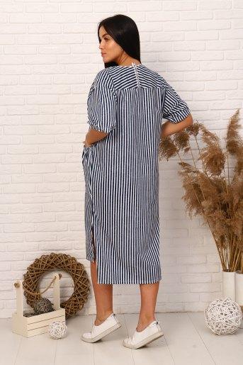 Платье 12316 (N) (Полоса) (Фото 2)