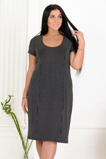 Платье 13463 (N) (Черный) - Злата