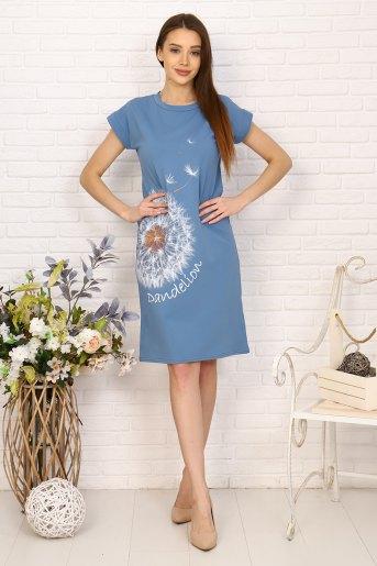 Платье 24828 (N) (Деним) - Злата