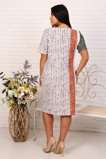 Платье Морошка (N) (Полоса) (Фото 2)