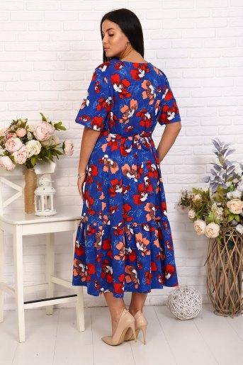 Платье 15541 (N) (Абстракция) (Фото 2)
