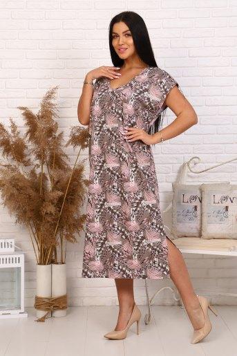 Платье 35004 (N) (Перья) - Злата