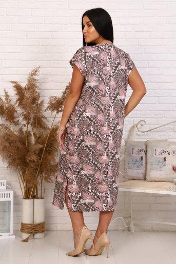 Платье 35004 (N) (Перья) (Фото 2)