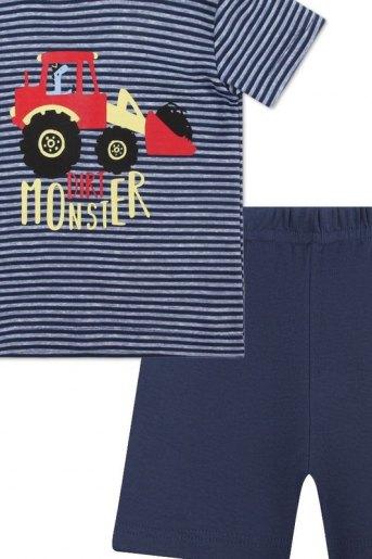 Комплект M-18-20- AW детский (футболка_шорты) (N) - Злата