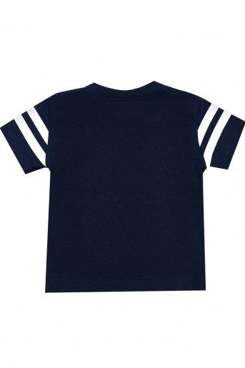 Футболка МИ101-12 кор. рукав (N) (Темно-синий) (Фото 2)