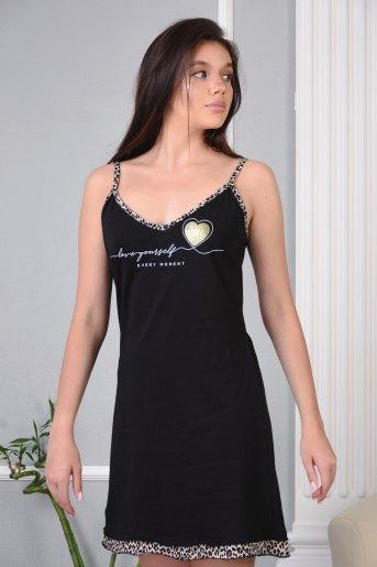 Сорочка 13469 (N) (Черный) - Злата