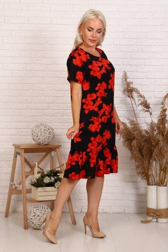 Платье 31534 (N) (Красный) - Злата