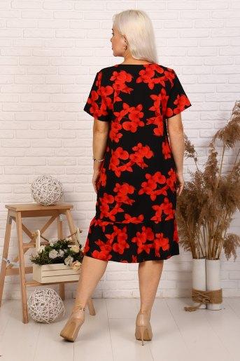 Платье 31534 (N) (Красный) (Фото 2)