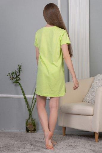 Сорочка Мурашки детская (N) (Салатовый) (Фото 2)