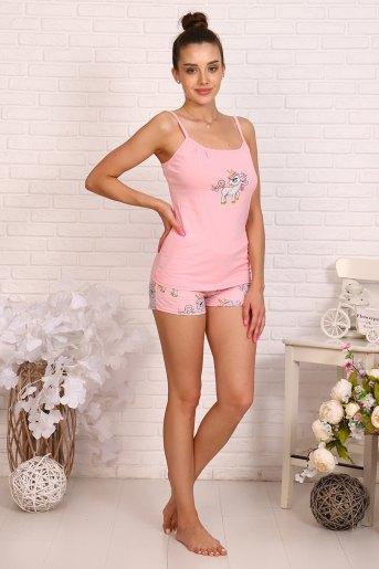 Пижама 12319 (N) (Розовый) - Злата