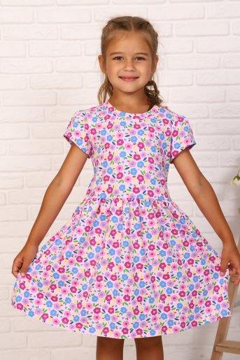Платье Нектар детское (N) (Розовый) - Злата