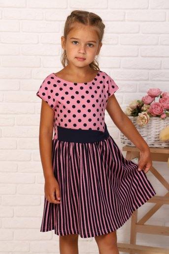 Платье Юла детское (N) (Розовый) - Злата