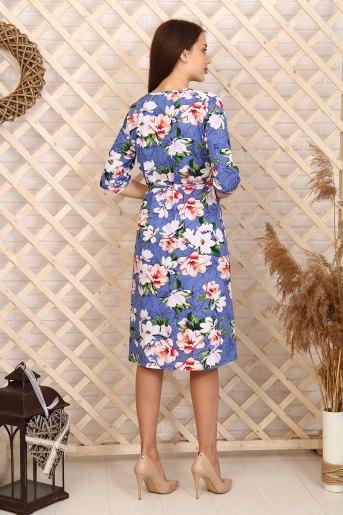 Платье 6995 (N) (Голубой) (Фото 2)