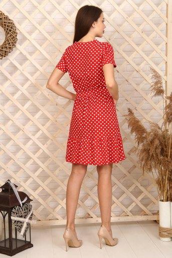 Платье 6997 (N) (Красный) (Фото 2)
