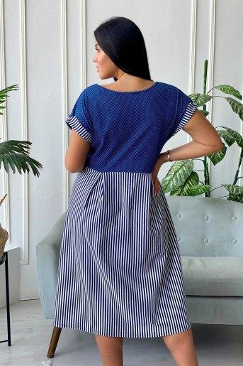 Платье 7272 (N) (Синий) (Фото 2)