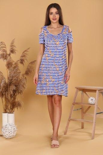 Платье 37011 (N) (Полоса) - Злата