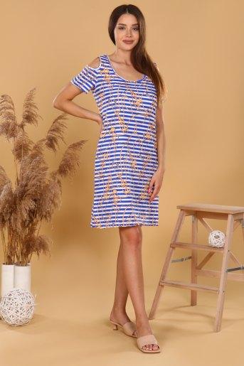 Платье 37011 (N) (Полоса) (Фото 2)