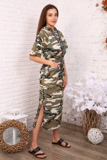 Платье 3393 (N) (Камуфляж) (Фото 2)