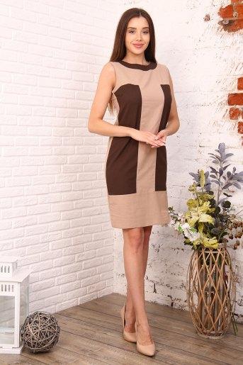 Платье 39501 (N) (Молочный) - Злата