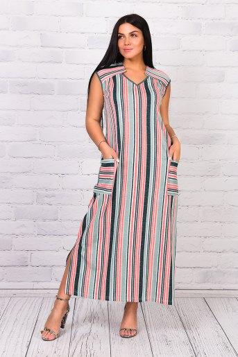 Платье 25223 (N) (Зеленый) - Злата