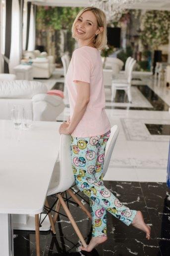 Женская пижама ЖП 067 (T) (Девушка с пончиками) (Фото 2)