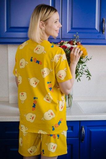Женская пижама ЖП 069 (T) (Цыпленок) (Фото 2)