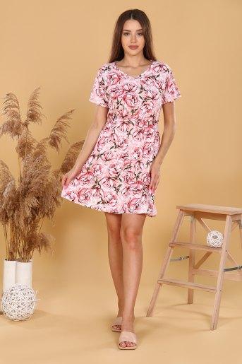 Платье 11590 (N) (Розовый) - Злата