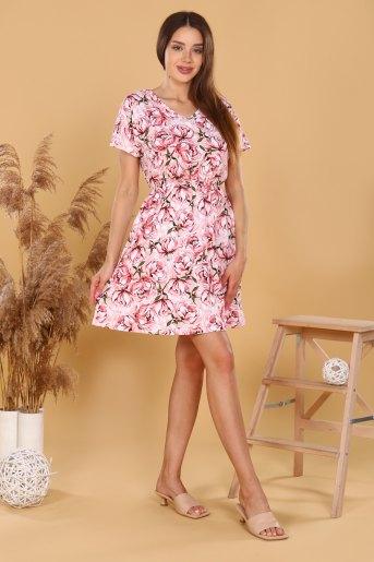 Платье 11590 (N) (Розовый) (Фото 2)