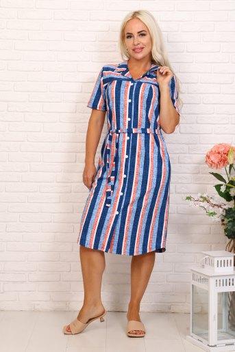 Платье 6999 (N) (Синий) - Злата