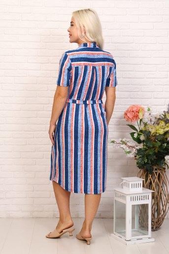 Платье 6999 (N) (Синий) (Фото 2)