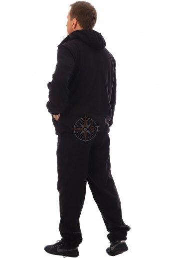 КУР5516 Костюм Комфорт ДМС (флис черный) (Черный) (Фото 2)