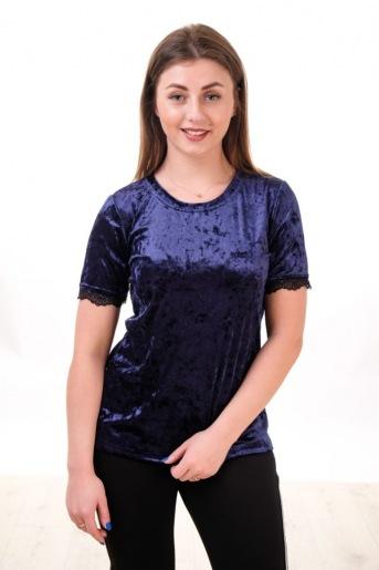 Блуза Бархат с кружевом (Фото 2)