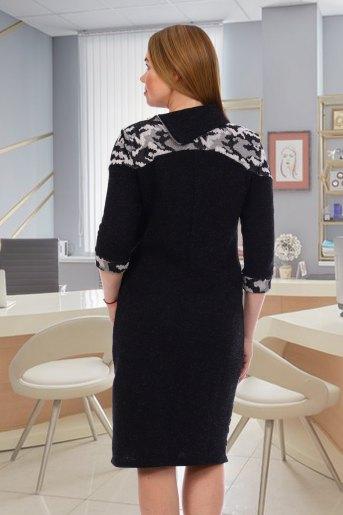 Платье 7042 (N) (Черный) (Фото 2)
