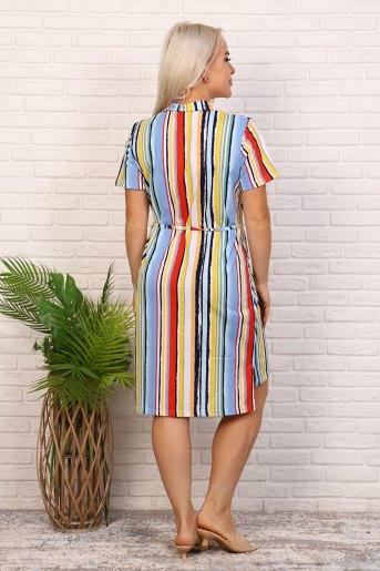 Платье 6979 (N) (Полоса) (Фото 2)