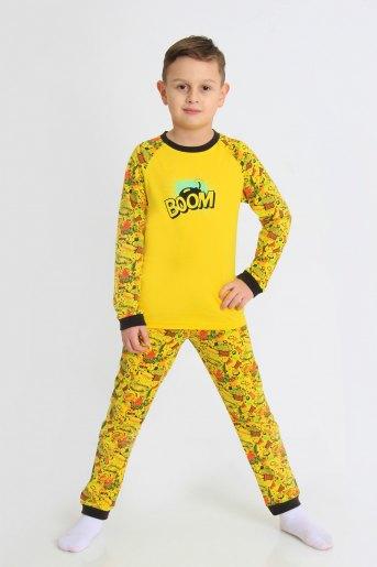 Пижама Комиксы детская (N) (Желтый) - Злата