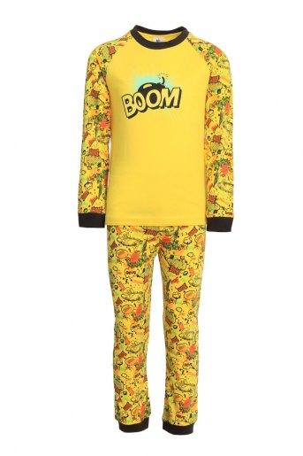 Пижама Комиксы детская (N) (Желтый) (Фото 2)