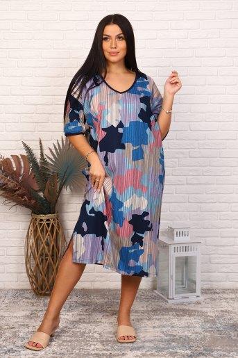 Платье 35079 (N) (Абстракция) - Злата