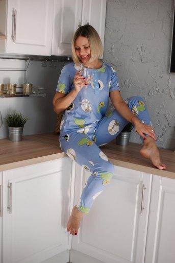 Женская пижама ЖП 071 (T) (Жирафы) - Злата